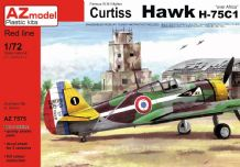 AZ Models 1/72 Model Kit 7575 Curtiss Hawk H-75C-1 'French aircraft Over Africa'